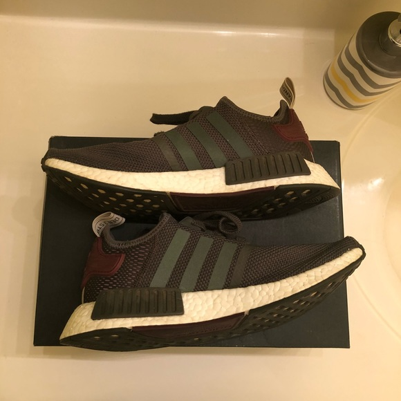 olive green adidas womens nmd- OFF 51